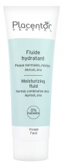 Placentor Végétal Moisturizing Fluid Normal to Combination Skins 40ml