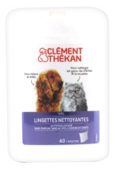 Clément Thékan Cleansing Wipes 40 Wipes