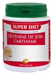 Super Diet Lécithine de Soja Carthame 120 Capsules
