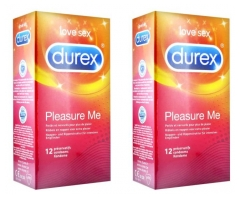 Durex Pleasure Me 2 x 12 Condoms