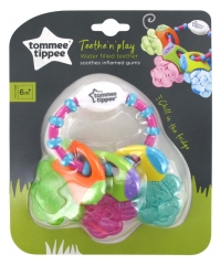 Tommee Tippee Teethe'N'Play Teething Rings Toy 6 Months and +