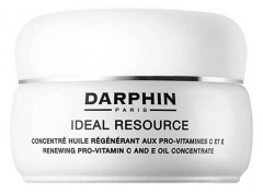 Darphin Ideal Resource Antiedad y Brillo Concentrado Aceite Regenerador con Pro-vitaminas C y E 60 Cáspulas