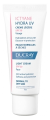 Ducray Ictyane Hydra UV Light Cream SPF 30 Face 40 ml