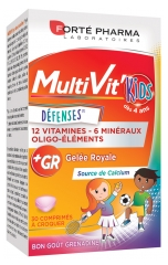 Forté Pharma MultiVit'Kids Defenses 30 Tablets to Crunch