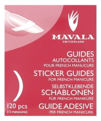 Mavala Guides Autocollants Pour French Manucure 120 Guides