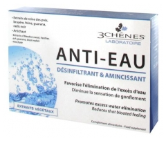 Les 3 Chênes Anti-Water Desinfiltrating and Slimming 30 Tablets