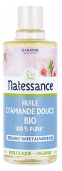 Natessance Organic Sweet Almond Oil 50ml