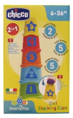 Chicco Smart2Play Stacking Cups 2-in-1 6-36 Months