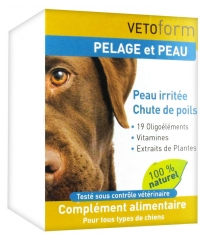 Vetoform Fur and Skin Food Supplement for Dogs 100g