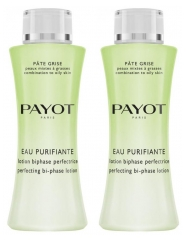 Payot Pâte Grise Eau Purifiante Lotion Biphase Perfectrice Lot de 2 x 200 ml