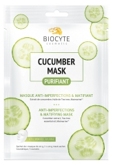 Biocyte Cucumber Mask Purifiant Masque Anti-Imperfections & Matifiant 10 g