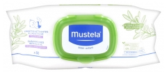 Mustela Cleansing Wipes with Olive Oil 50 Wipes
