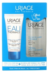 Uriage Light Water Cream 40ml + Thermal Micellar Water Normal to Dry Skin 100ml Offered