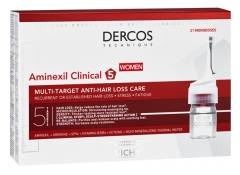 Vichy Dercos Aminexil Clinical 5 Women 21 Monodoses
