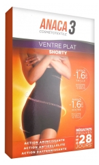 Anaca3 Cosmétotextile Flat Belly Shorty