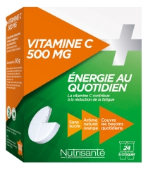 Nutrisanté Vitamin C to Crunch 500 mg 24 Tablets