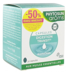 Phytosun Arôms Aromadoses Digestion-Transit 30 Capsules Offre Spéciale