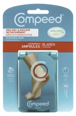 Compeed Blisters Medium Size 10 Plasters