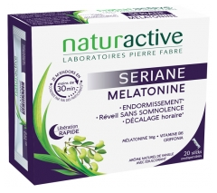 Naturactive Sériane Mélatonine 20 Orodispersible Sticks