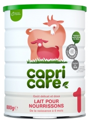 Capricare Goat Milk 1 from 0 to 6 Months 800g