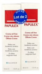 Papulex Oil-Free Cream 2 x 40ml