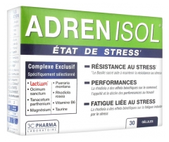 3C Pharma Adrenisol 30 Tablets