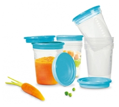 NUK Storage Pots 6 Pots x 200ml