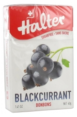 Halter Sweets Sugars Free Blackcurrant 40g
