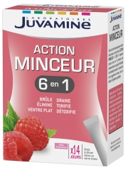 Juvamine Cocktail Minceur 6 Actions 14 Sticks