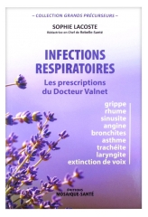 Docteur Valnet Book Infections Respiratoires by Sophie Lacoste