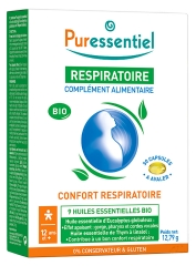 Puressentiel Respiratory Organic Food Supplement 30 Gel-Caps