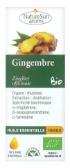 NatureSun Aroms Huile Essentielle Gingembre (Zingiber officinale) Bio 10 ml
