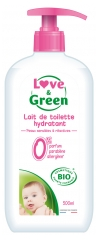 Leche Limpiadora Ecológica Love & Green 500 ml