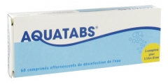 Aquatabs 1 Liter 60 tablets