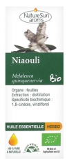 NatureSun Aroms Organic Essential Oil Niaouli (Melaleuca Quinquenervia) 10ml
