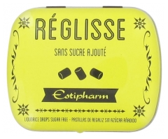 Estipharm Liquorice Lozenges With Added Sugar Free 14g