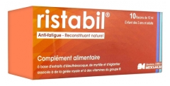 Ristabil Anti-Fatigue Reconstituant Naturel 10 Flacons