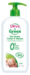 Love & Green Gel Lavant Corps & Cheveux Bio 500 ml