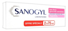 Sanogyl Rose Lot de 2 x 75 ml