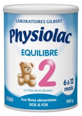 Physiolac Equilibre 2 6 to 12 Months 900g