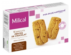 Milical 16 Galletas Hiperprotéicas.