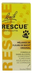Rescue Bach Remedy Pets Compte-gouttes 10 ml