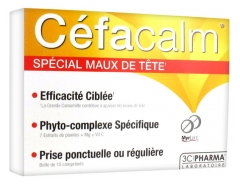 3C Pharma Céfacalm 15 Tablets