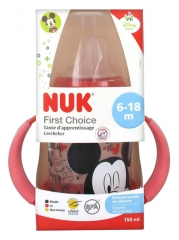 NUK First Choice Tasse d'Apprentissage 150 ml Disney Baby 6-18 Mois