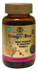 Solgar Kangavites Red Fruits Aroma 60 Chewable Tablets