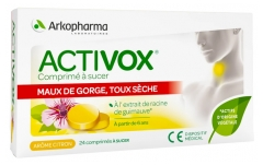 Arkopharma Activox Tablet to Suck 24 Tablets