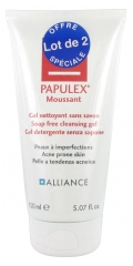Papulex Gel Moussant Lot de 2 x 150 ml
