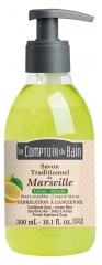 Le Comptoir du Bain Traditionelle Marseille-Seife Zitronen-Minze 300 ml