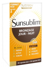 Nutreov Sunsublim Tanning Day - Night 30 Capsules Day + 30 Capsules Night