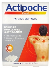 Cooper Actipoche 2 Patchs Chauffants